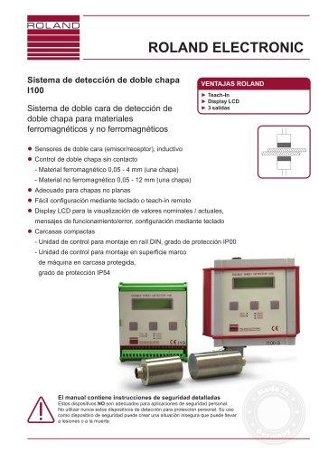 I100 Sistema de detección de doble chapa
