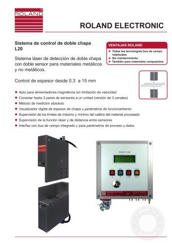 L20 - Sistema de control de doble chapa