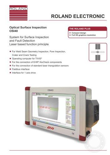 OSI40 - Optical Surface Inspection