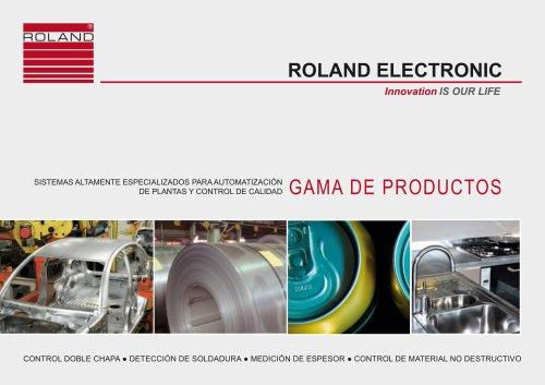 ROLAND ELECTRONIC Gama de productos