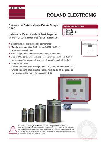 Sistema de Detección de Doble Chapa A100