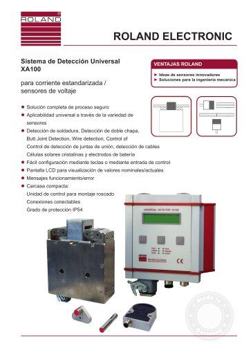 Sistema de Detección Universal XA100