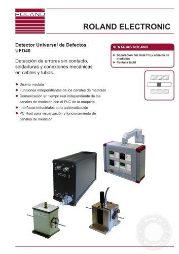 UFD40 Detector Universal de Defectos