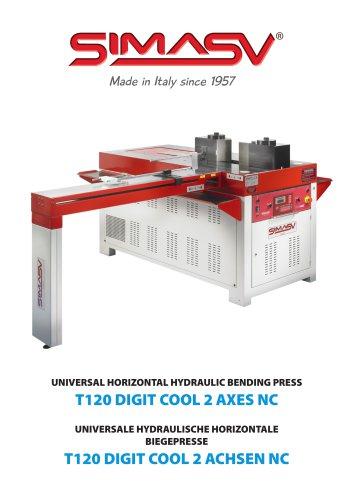 T120 CNC HORIZONTAL BENDING PRESS