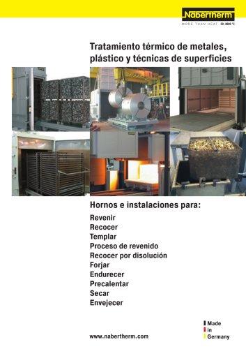 Tratamiento térmico de metales