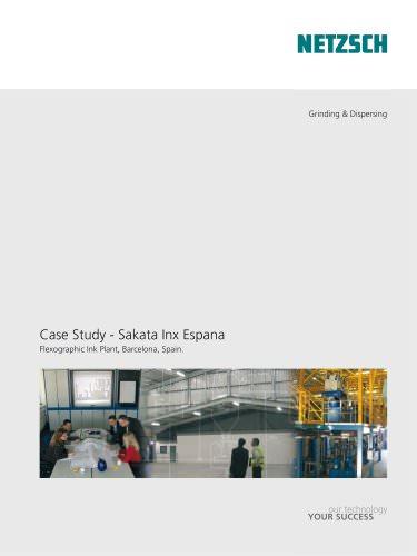 NETZSCH Case Study Sakata