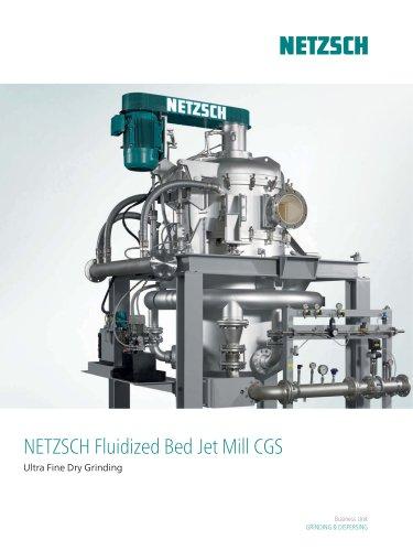 NETZSCH Fluidized Bed Jet Mill CGS