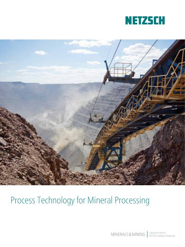 Process Technology for Mineral Processing