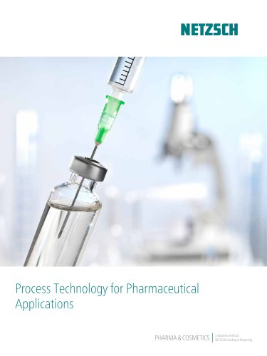 Process Technology for Pharmaceutical Applications