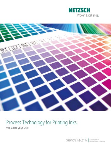 Process Technology for Printing Inks
