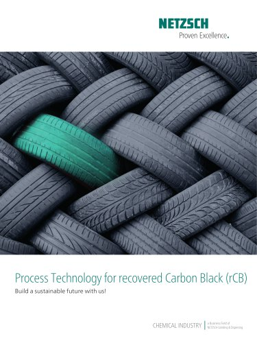 Process Technology for recovered Carbon Black (rCB)