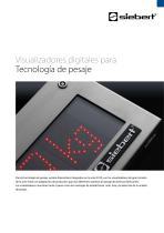 S102 / S302 tecnología de pesaje
