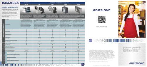 Lectores de presentación  Escáneres y Escáneres/ Balanza de Mostrador
