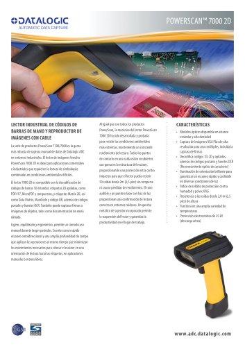 PowerScan® 7000 2D series