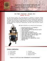 Arc Melt Furnace- Single Arc MODEL SA-200
