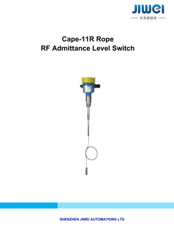 Cape-11 Rope RF Admittance Level Switch