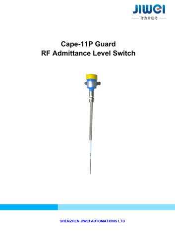 Cape-11P Guard RF Admittance Level Switch