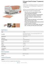 Chicopee Chix® Pro-Quat™ Foodservice Towels