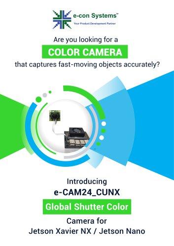 Global Shutter Color MIPI Camera for Jetson NX/Jetson Nano