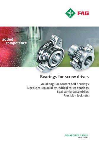Bearings for screw drives  (TPI 123)