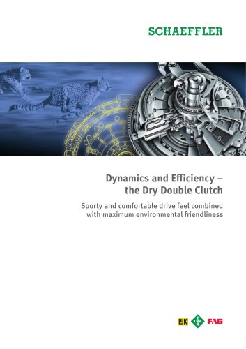 Dynamics and Efficiency ? the Dry Double Clutch