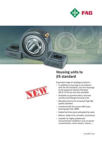 Housing units to JIS standard (TPI 116)