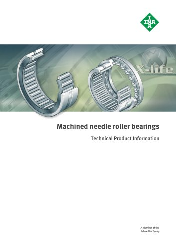 Machined needle roller bearings (TPI 117)
