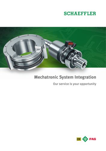 Mechatronic System Integration Our service is your opportunity