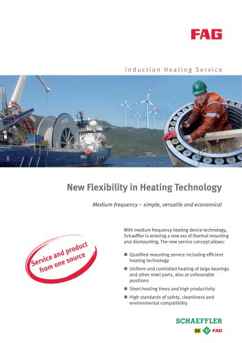 New Flexibility in Heating Technology