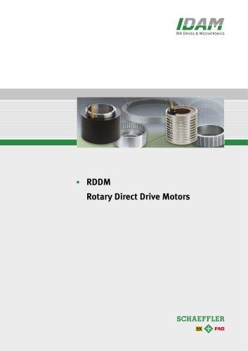 RDDM Rotary Direct Drive Motors
