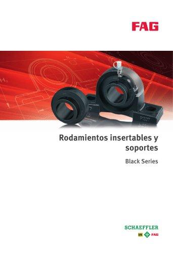 Rodamientos insertables y soportes Black Series