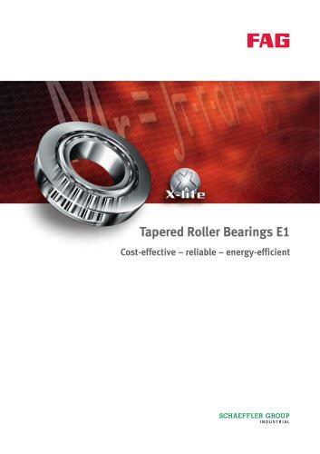 Tapered Roller Bearings E1