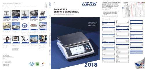 BALANZAS & SERVICIO DE CONTROL