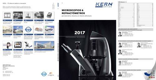 Microscopes & Refractometers 2017