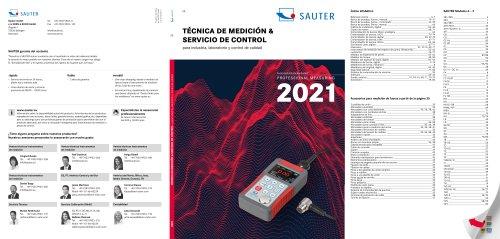 TÉCNICA DE MEDICIÓN & SERVICIO DE CONTROL