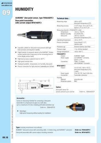 ALMEMO® dew-point sensor, type FHA646DTC1