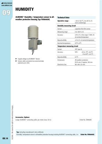 ALMEMO® Humidity / temperature sensor Typ FHA646AG