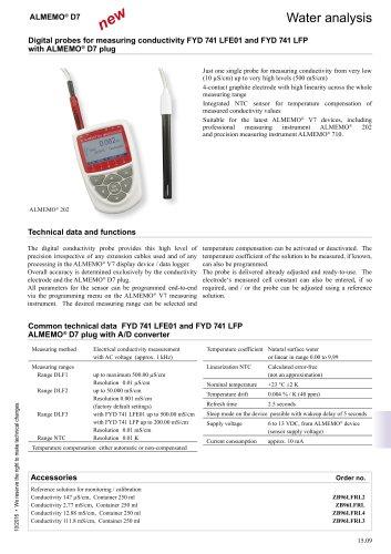 conductivity D7