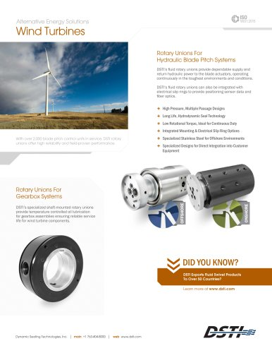 Alternative Energy Solutions Wind Turbines