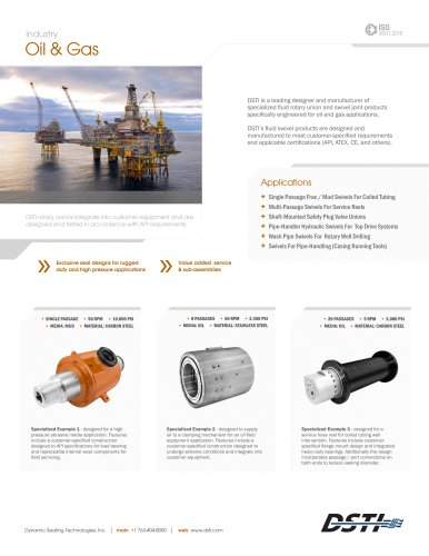 Oil & Gas Brochure