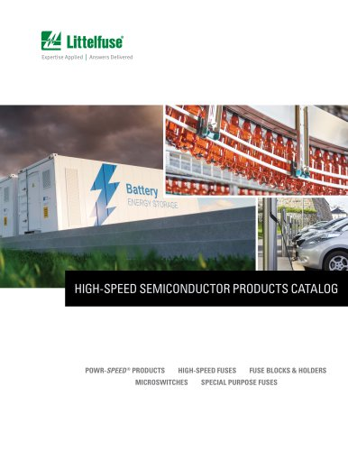 HIGH-SPEED SEMICONDUCTOR PRODUCTS CATALOG