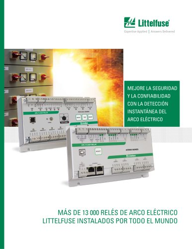 Littelfuse Arc-Flash Relay Brochure - Spanish