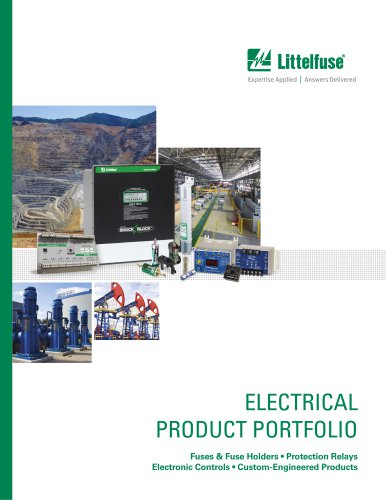 Littelfuse Electrical Product Portfolio