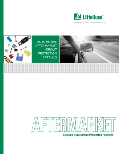 Littelfuse North American Automotive Aftermarket Catalog
