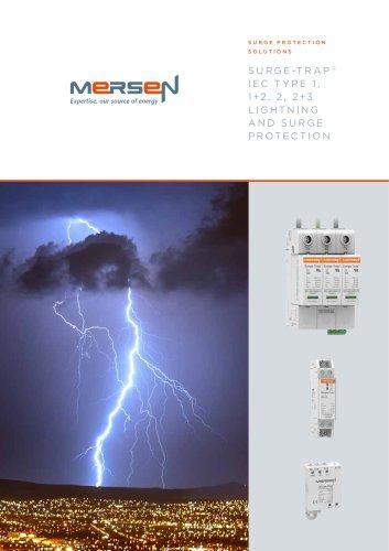 Surge Trap IEC Type 1, 1+2, 2, 2+3 Surge Protective Devices Type