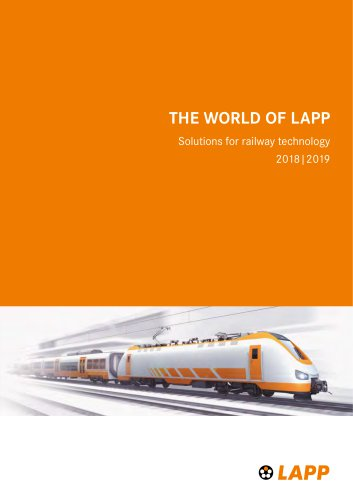 Solutions for railway technology 2018 2019