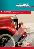 ADDINOL Classics - Lubes and specialities for old- and youngtimer