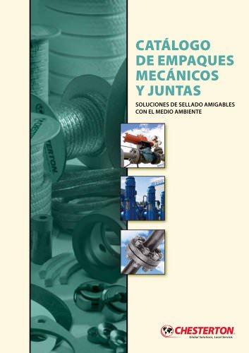 CATÁLOGO DE EMPAQUES MECÁNICOS Y JUNTAS