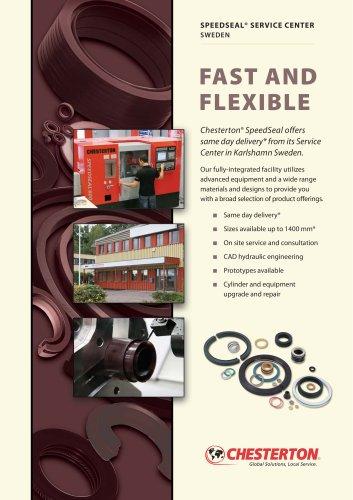 Hydraulic and Pneumatic Seals, SpeedSeal program