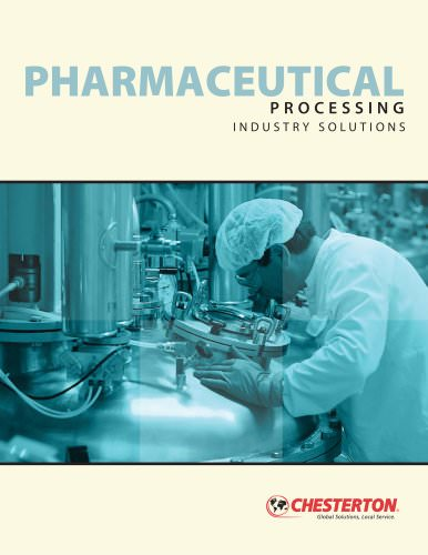 Pharmaceutical Processing, Industry Solutions